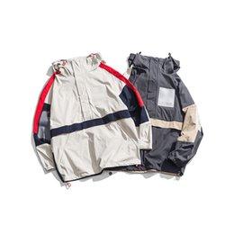 047be9e1ed09 2019 весна новый мужской японский смарт-панк японский стиль бренда куртка  повседневная одежда камуфляж erkek mont бесплатная доставка мода