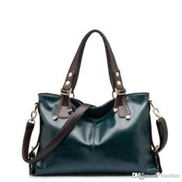Best tote Bag pockets online shopping - Best Quality Women s Chain High quality Genuine leather shoulder cross body women handbag Lady Totes Handbags Messenger Bag