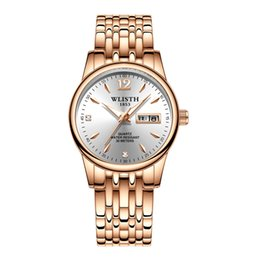rose gold black womens watches Canada - 2019 New Steel Womens Watch Business-Style Womens Quartz Watch Quartz Watch Rose Gold