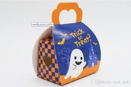 $enCountryForm.capitalKeyWord Australia - DHL Halloween style Paper packing bag white ghost portable bags for candy cakepacking 5pcs to sell (2)