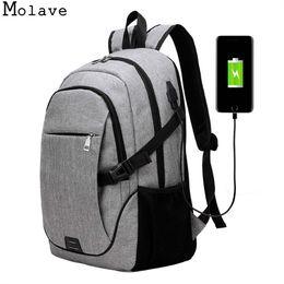 MOLAVE рюкзаки мужчины тенденция сумка досуг бизнес путешествия компьютер школа сумка холст молния твердые рюкзак dec8 #30950 на Распродаже