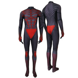 $enCountryForm.capitalKeyWord UK - Adult Men Kids Game Kingdom Hearts III Protagonist Sora Vanitas Cosplay Costume Lycar High Quality Superhero Zentai Party Bodysuit Jumpsuit