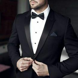 $enCountryForm.capitalKeyWord NZ - Black Wedding Suits for Men Latest Coat Pants Designs Groom Tuxedos Gentle Bridegroom Suits Man Blazer 2Piece Evening Party Terno Masculino