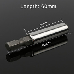 SleeveS extenSionS online shopping - HOEN quot Hex Shank Holder Connection Rod Adapter Sleeve mm Hex Shank Quick Release Magnetic Screwdriver Extension Bit