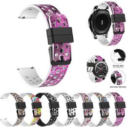 $enCountryForm.capitalKeyWord UK - Watchband Silicone Bracelet Watch Strap Band For Samsung Gear S3 Frontier Classic 22mm watch band strapon relogio wristwatch