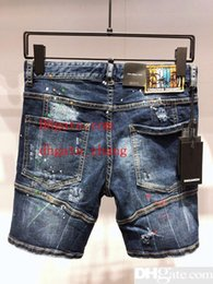 $enCountryForm.capitalKeyWord Australia - 2019 New designer mens ripped famous brand biker jeans for top quality skinny 05 denim shorts fashion clothing