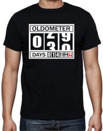 Birthday Party T Shirts Australia - 30th Birthday Oldometer Funny Present Gift Party Son Brother Mens Black T Shirt
