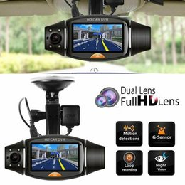 Visions design online shopping - Dual Lens Driving Recorder R310 Gps Track Driving Recorder Super Wide angle Night Vision Exquisitely Designed Durable car