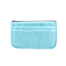 large black cosmetic bags 2019 - Simple Insert Bag Women Men Nylon Travel Insert Organizer Handbag Large Capacity Lady Makeup Cosmetic Bag Double Zipper