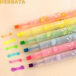 Syringe Supplies Australia - 6 pcs lot Liquid Novelty Syringe Watercolor Pens Stationery Cute Syringe Ballpoint Pens Office Supplies Child Gift CL-1042