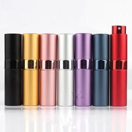 $enCountryForm.capitalKeyWord Australia - Outdoor Gadgets 8 15ML Mini Aluminum Telescop Refillable Perfume Bottle With Atomizer Empty Parfum Case For travel MMA1981