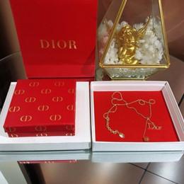 Letter D Pendant Australia - 2019 new letter diamond necklace hot sale generous elegant and fashionable goddess must have super face thinis