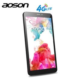 Tablets 1gb 4g Australia - SIM CARD Aoson S8 PRO 8 inch 3G 4G Smart Phone Tablets Android 6.0 IPS 1028*800 Quad Core 1GB RAM 16GB ROM 5MP camera OTG GPS