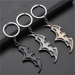 batman pendants Australia - 17 styles New Fashion Avenger Union Batman keychains For Bag Key Holder Charm Hanging pendant Car Key Chains Key Ring Women jssl01