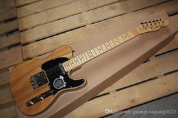 Ingrosso gfrt Miglior telecaster chitarra di colore della natura di alta qualità prezzo ameican Standard Telecaster chitarra elettrica