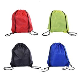 ac53fab598ff Outdoor Sport Swimming Bags Nylon Waterproof Backpack Convenient for  Practical Drawstring Beach Bag Travel Bags 4 Colors  86017
