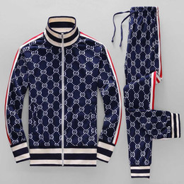 $enCountryForm.capitalKeyWord UK - 2019ss brand new brand designer letter printing running men's sweater suit sportswear sportswear suit men's jacket jacket casual sweatshirt