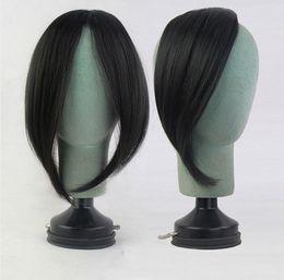 $enCountryForm.capitalKeyWord Australia - Long Bangs Girls Side Bangs Fake Fringe Synthetic Clip in Hair Extensions Blonde Heat Resistant Fake Bangs