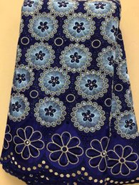 $enCountryForm.capitalKeyWord Australia - BLY1002 Free shipping 5 yards lot high quality African cotton hole lace with embroidery for making clothes!