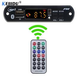 $enCountryForm.capitalKeyWord NZ - kebidu Bluetooth MP3 Decoder Board 5V 12V Audio Module for Car Remote Music Speaker Car Vehicles MP3 USB FM TF Radio Board