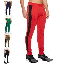 Muscle Print Pants Australia - Train Muscle Brother Jogging Style Sweatpants Little Sports Bodybuilding Trousers Male Run Pants C19031801
