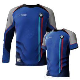 DH MX Motocross Jersey de secado rápido para BMW Motocicleta Deporte Ciclismo camiseta Motorrad Off-road Motocicleta Poliéster Jersey