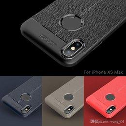 Iphone carbon fIber bumper online shopping - Soft Silicone Tpu Carbon Fiber Cover For iphone iPhone X XS MAX Case Shell Bumper for huawei P30 Samsung S10