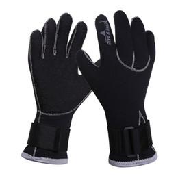 Swim Gloves 3MM Neoprene Scuba Dive Gloves Snorkeling Equipment Anti Scratch Keep Warm Wetsuit Material Winter Swim Spearfishing на Распродаже