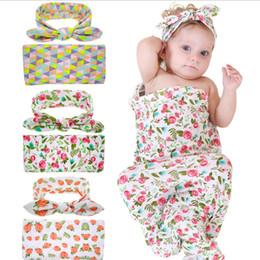 $enCountryForm.capitalKeyWord NZ - Infant Baby Swaddle Sack Girl Flower Blanket Newborn Soft Cocoon Sleeping Bags With Knot Headbands Free shipping