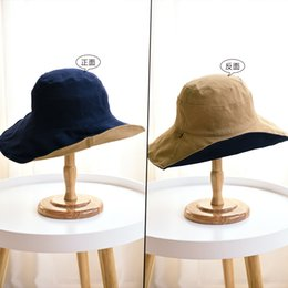 Fiber Garden Australia - Hat summer day is the most largest double-sided color matching along the ms fisherman hat shading in summer sun hat Korean folding