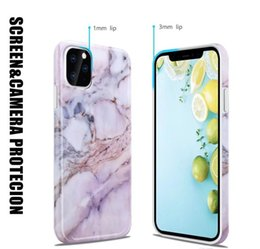 free xmas cards NZ - Free Gift 2PCS 3-ply Disposable Masks With Holder Stand Marble Case For iPhone 11 Pro Max Back Cover For iphone 11 11Pro X XR Xmas
