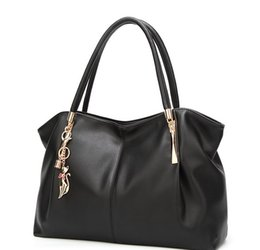 $enCountryForm.capitalKeyWord Australia - New Fashion Big Women's Handbags Luxury PU Leather Women Bags Brand Design Ladies Shoulder Bag Tote Female