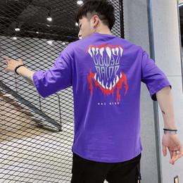 $enCountryForm.capitalKeyWord Canada - Men's T-shirts 2019 New Fashion Loose Cartoon Print Breathable Quick Dry Thin Soft Pullover Shirts Cotton Blend Size M-3XL