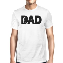 Best Cotton For T Shirts Australia - Dad Golf Mens White Cotton T-Shirt Funny Fathers Day Gifts For Him T-Shirt Men Male Best Deals Custom Short Sleeve XXXL Couple Camiseta
