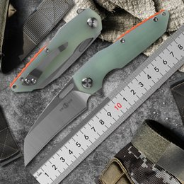 $enCountryForm.capitalKeyWord Australia - TWO SUN TS48 folding Knife Army Hunting D2 blad 60hrc Hardness Survival Knives Essential tool For Self-defense Outdoor G10 EDC