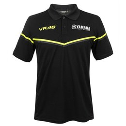$enCountryForm.capitalKeyWord Australia - Moto GP summer for Yamaha Team motorcycle Polo Shirt MENS The Doctor Black Cotton T shirt Fan Polo Shirt PL028