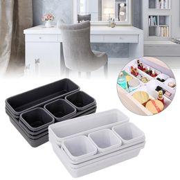 Wholesale 8pcs set Home Drawer Organizer Box Trays Storage Box Office Storage Kitchen Bathroom Closet Jewelry Makeup Desk Box Organization