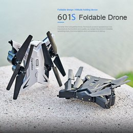 Professional Toy Helicopter Australia - KY601S RC Quadrocopter with Camera(Can Choose)1080P HD Professional Drones Selfie Drone Helicopter Foldable Quadcopter Toys Dron