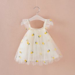 Birthday Tutus For Toddlers Girls Australia - Baby Girl Summer Dress 2019 New Infant Toddler Print Girl Dresses For Newborn Princess Dress Baby 1st Birthday Tutu Dress Y19061101