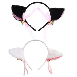 Boys Costume Accessories 1 Pair Hot New Sweet Funny 6 Colors Bell Cat Ears Hair Clip Cosplay Anime Costume Halloween Birthday Party Hair Accessories Clip