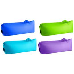 $enCountryForm.capitalKeyWord NZ - New Picnic Mat Beach Mat Inflatable Sofa Lazy bag air sofa bed moistureproof pad air lounger chair Outdoor Camping