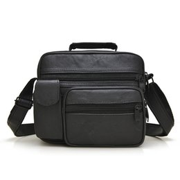 briefcase school 2019 - Ougger Small School Briefcases Handbags Black Fashion Casual Men's Shoulder Bags for Business cheap briefcase schoo