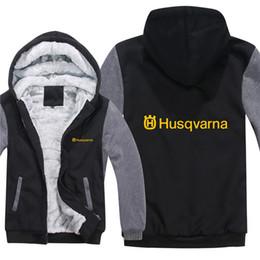 $enCountryForm.capitalKeyWord Australia - Winter Husqvarna Hoodies Men Fashion Coat Pullover Wool Liner Jacket Husqvarna Motorcycle Sweatshirts Hoody