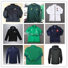 Singlet Suits Australia - 2018 2019 Maori All Blacks Jacket Jersey South Africa Ireland French Training suit SHIRT Blacks Singlet rugby size S-3XL