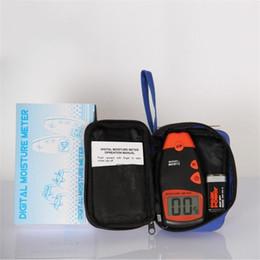 Опт Digital Wood влагомер MD812 LCD 2 Pin Черный цвет Анализатор влажности Датчики влажности Портативные Деревообрабатывающие инструменты 29wh E1