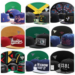 jamaica hats Australia - Cayler & Sons Baseball Caps JAMAICA GOOD EAITH pigeon broolyn DOLLA DOLLA BILL YALL fight the power you know i got it snapback Hats