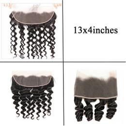 $enCountryForm.capitalKeyWord Australia - Malaysian Virgin Human Hair Water Wave Lace Frontal 13x4 Ear to Ear Lace Frontal Brazilian Loose Deep Wave Hair Weaves Lace Frontal