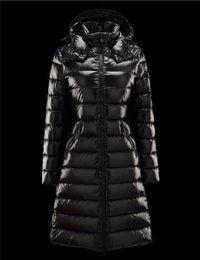 $enCountryForm.capitalKeyWord Australia - Women's winter long down jacket moka Slim slimming thick warm down coats Suyen Women Down Parkas