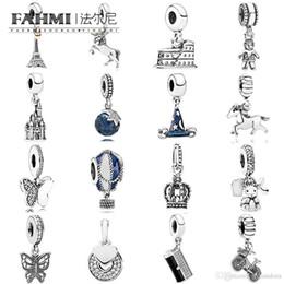 $enCountryForm.capitalKeyWord NZ - FAHMI 100% 925 Sterling Silver Charm Master Mischief Little Boy Horse Free Spirit Dangle Hot Air Balloon Openwork Eiffel 14k BABY Clutch