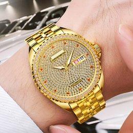 Водонепроницаемые швейцарские оригинальные мужские часы с механическим циферблатом и дрелью автоматические механические часы с золотым покрытием 18К